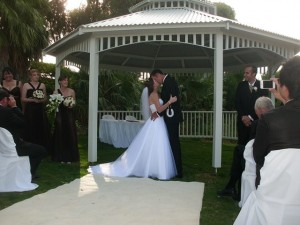 Joondalup Resort Gazebo, Joondalup resort wedding, perth wedding celebrant